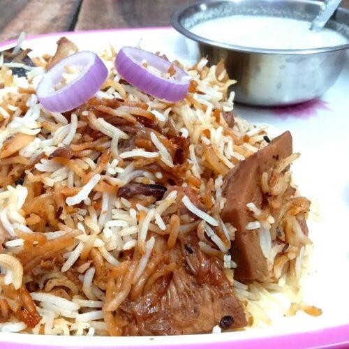 Veg Kathal Biryani Recipe | वेज कटहल बिरयानी
