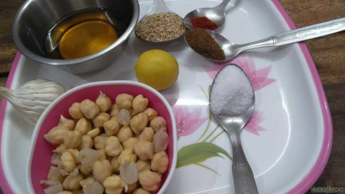 recipe made by chickpeas