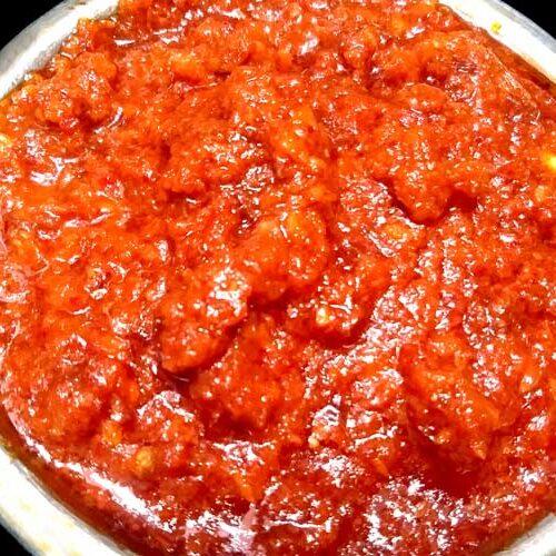 Hot and tangy Garlic chutney/ lehsun ki chutney