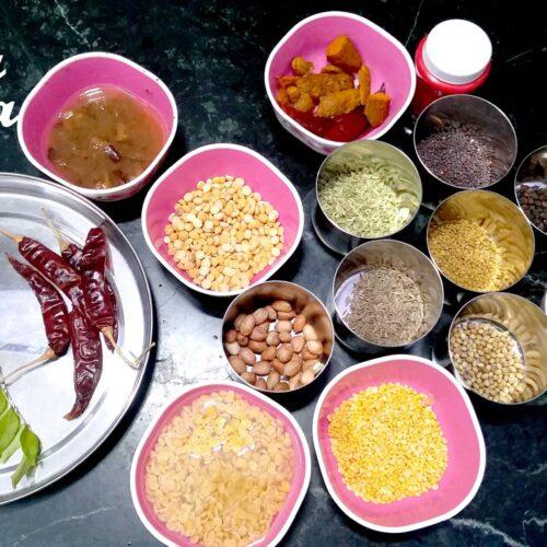 स सांबर मसाला पाउडर रेसिपी से बनाए अपने घर की सांबर, बाज़ार से भी ज्यादा टेस्टी-घर मे सांभर मसाला बनाने का आसान तरीका