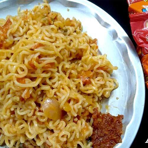 NOODLES RECIPE   VEG NOODLES   STREET FOOD   village food