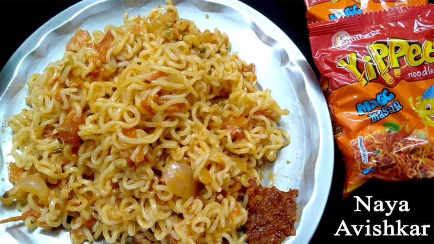 NOODLES RECIPE | VEG NOODLES | STREET FOOD | village food