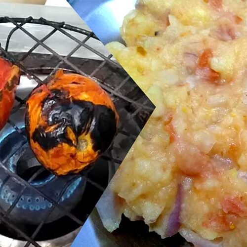 chokha - Bihari Style Recipe   लिट्टी चोखा के लिए बहुत ही आसान रेसीपी