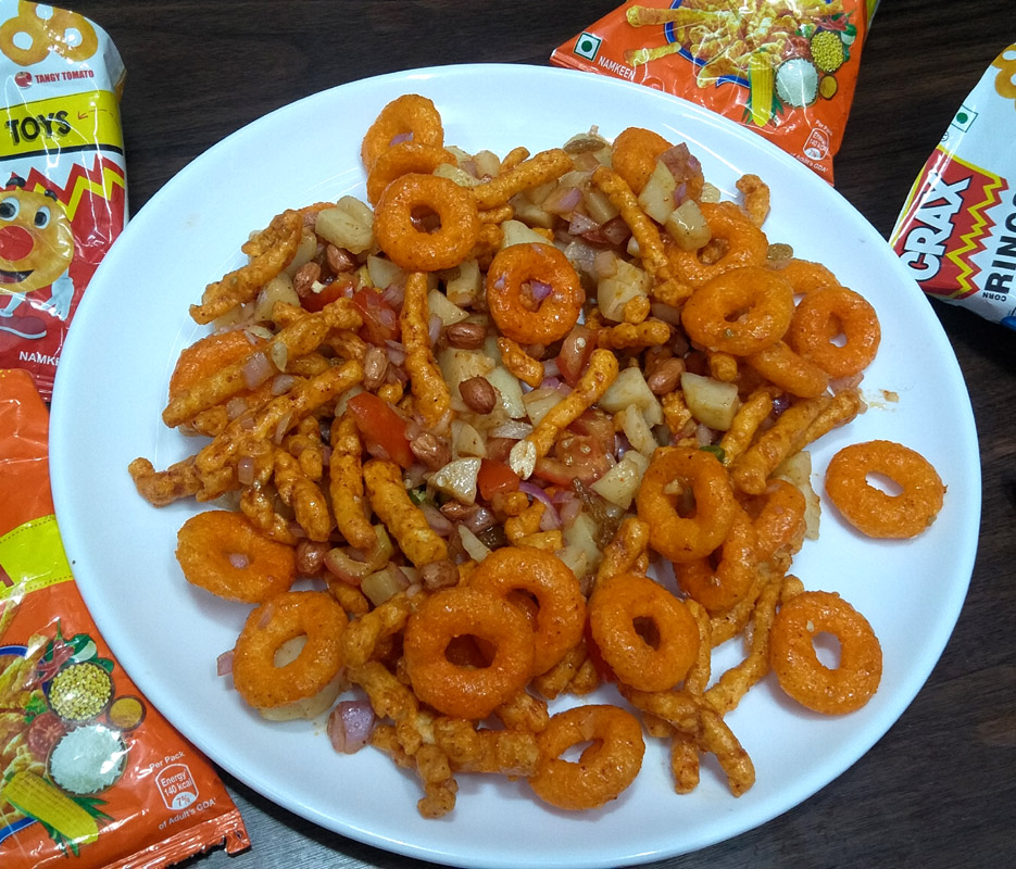 Timepass Snack | 2 minute easy snack | Lays & Kurkure chaat | TASTY HEALTHY YUMMY 2 Different Types Of Kurkure Bhel Recipe